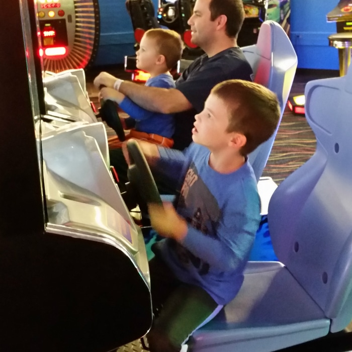 Arcade at Castaway Bay