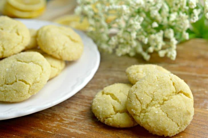 tea cookies recipe on plate