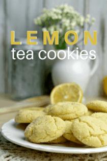 Lemon Tea Cookie Recipe