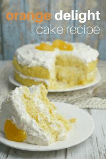 Orange Delight Cake Recipe