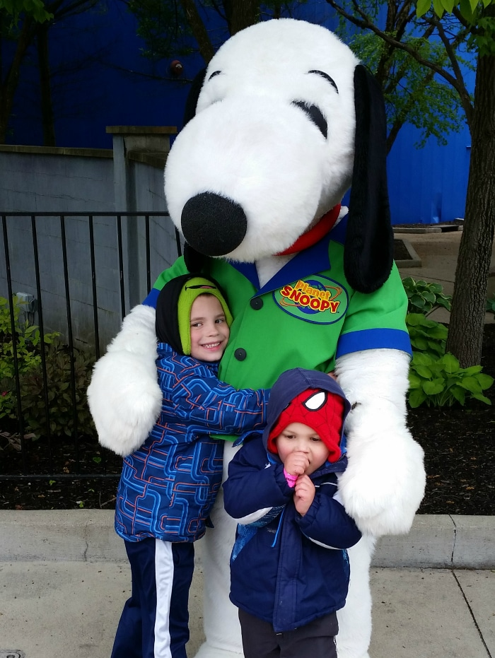 snoopy at kings island