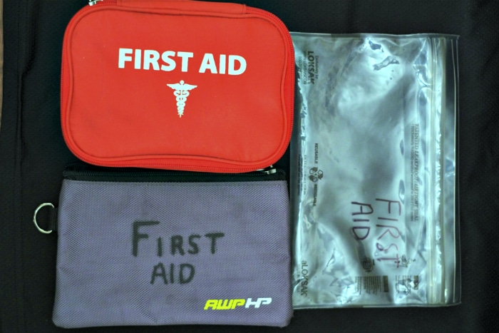 homemade first aid kit 5
