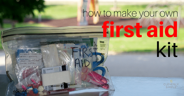 homemade first aid kit fb