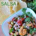 Easy Shrimp Salsa Recipe Dip with Avocado