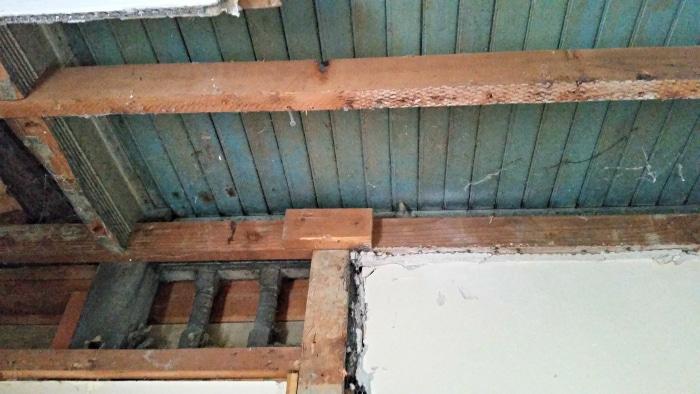 Porch Under Bathroom