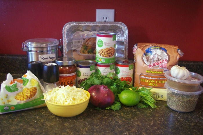 Vegetarian Mexican Casserole Ingredients