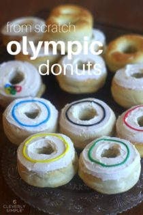 Easy Baked Donuts From Scratch – Olympic Style