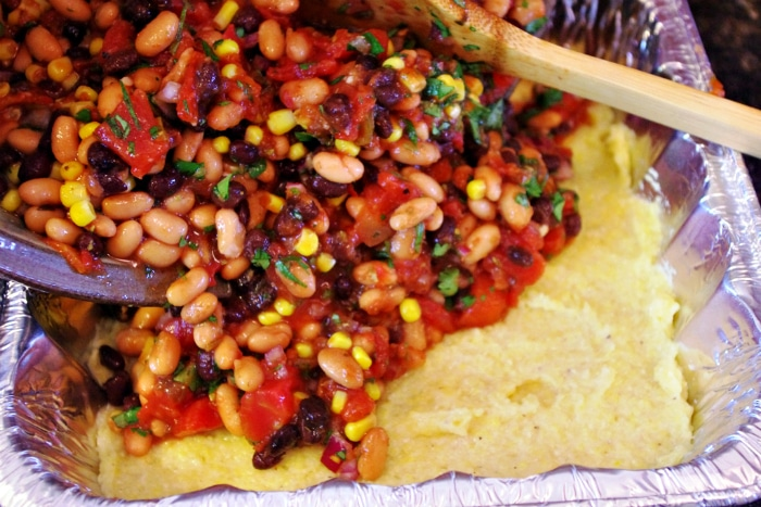 vegetarian mexican casserole 5