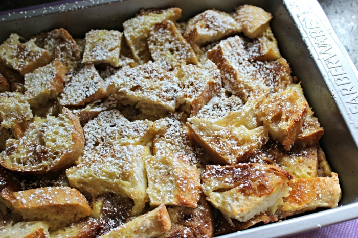 Easy baked french casserole