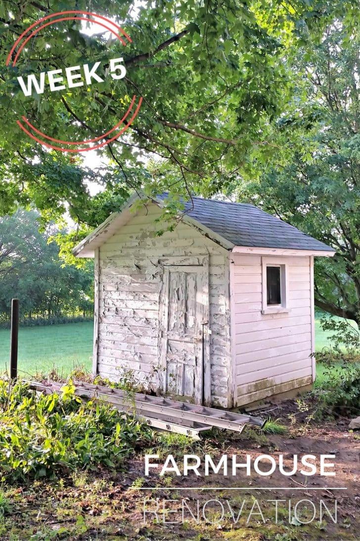 Farmhouse Renovation Week 5, Foundation, Bathroom Mirror