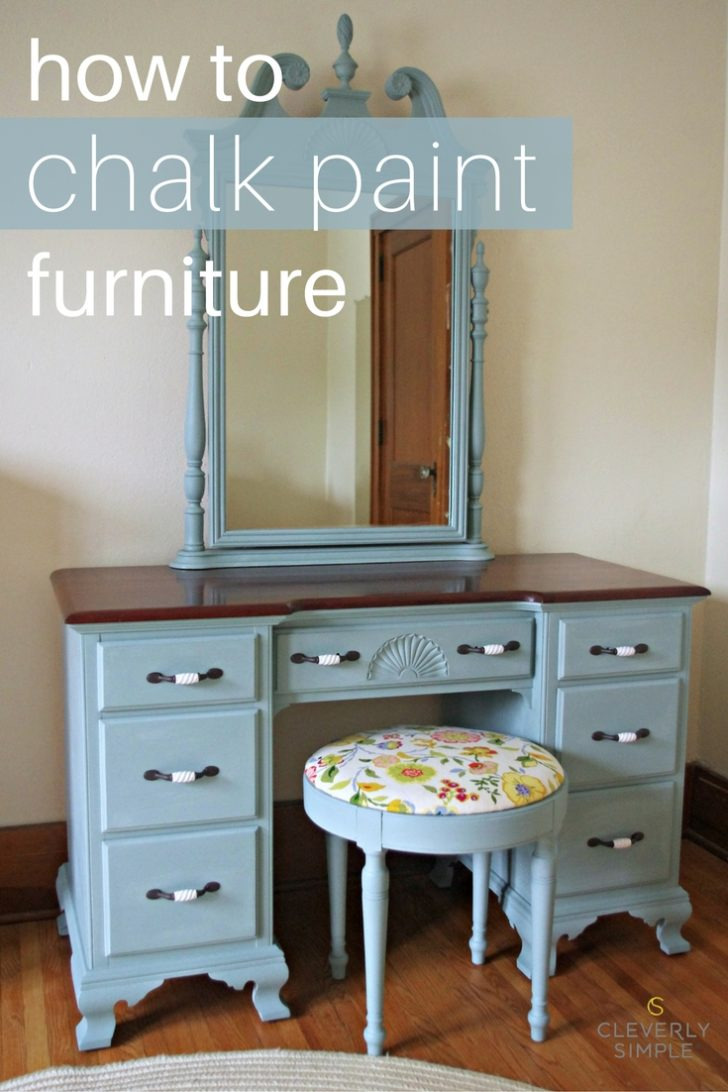 How To Chalk Paint Furniture Diy