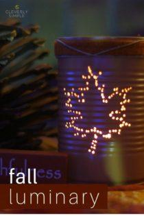 Fall Luminary Craft