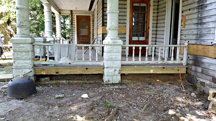 farmhouse-renovation-week-8-porch-skirting-outside