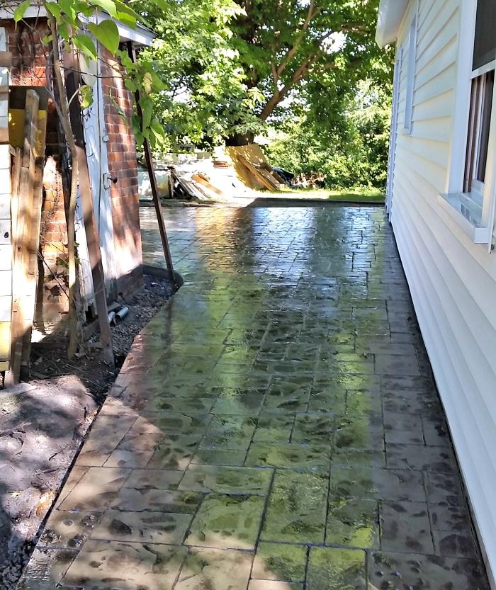farmhouse-renovation-week-9-outside-back-patio-finished
