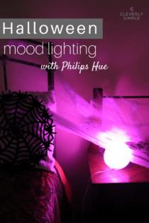 Halloween Mood Lighting with Philips Hue