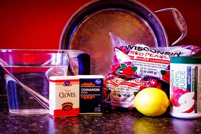 cranberry tea ingredients
