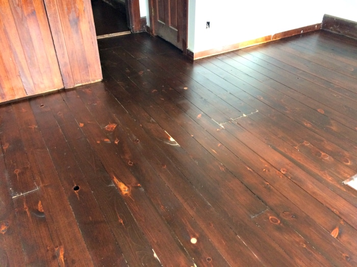 farmhouse-renovation-week-19-pine-floors-refinished-master-bedroom