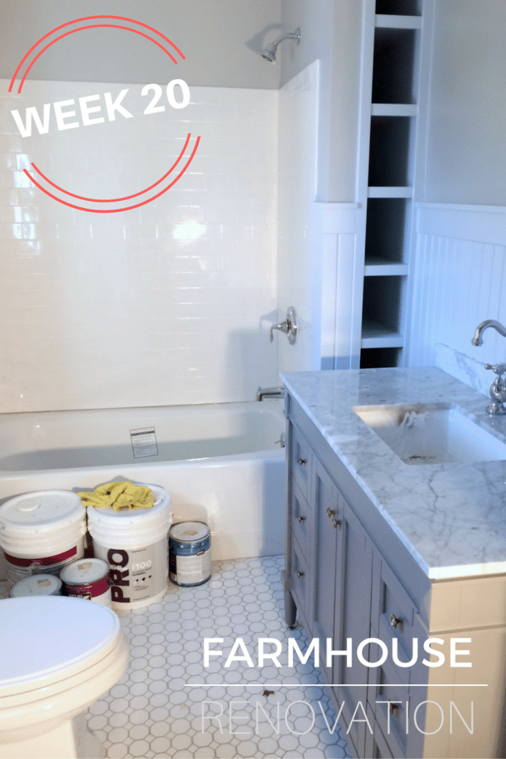 Farmhouse Bathroom Renovation, Before and After - Simple Recipes ...