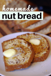 homemade nut bread