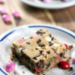 Valentines Day Cookie Bars