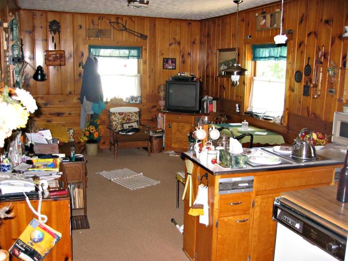 farmhouse kitchen before 2