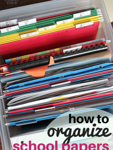 How to Organize School Papers (1)