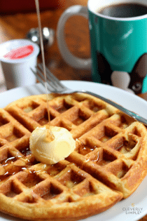 The Best Homemade Waffle Recipe with Seattle's Best Coffee