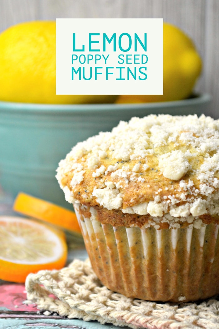 Lemon Poppy Seed Muffins - Cleverly Simple