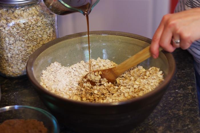 simple homemade granola-10