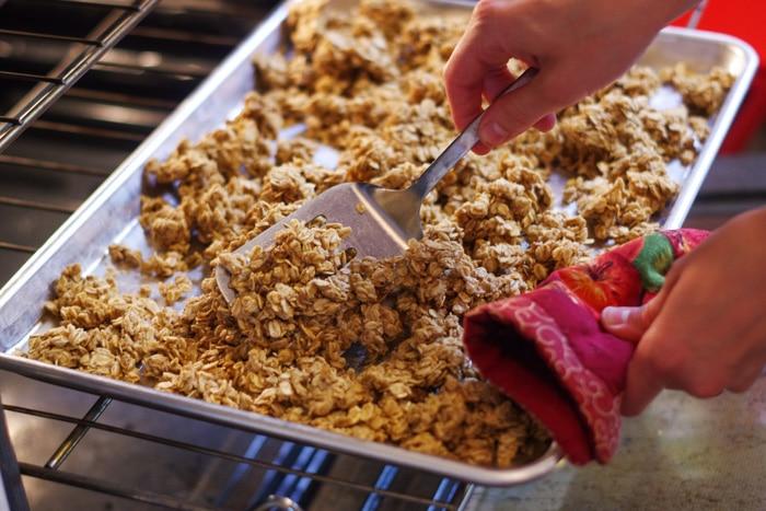 simple homemade granola-20