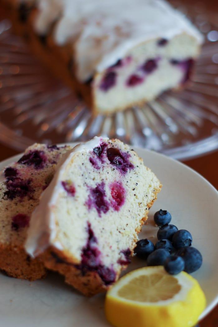 Lemon Blueberry Poppy Seed Bread-12