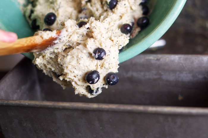 Lemon Blueberry Poppy Seed Bread-7