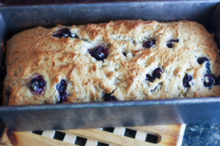 Lemon Blueberry Poppy Seed Bread-8