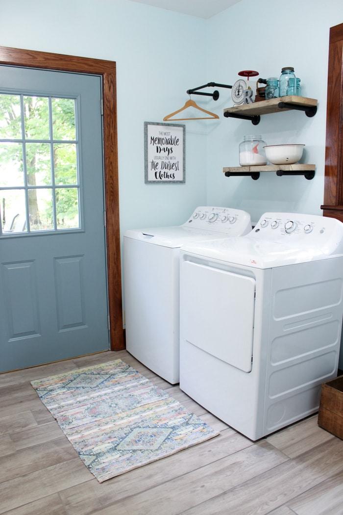Laundry Room Makeover Renovation-18