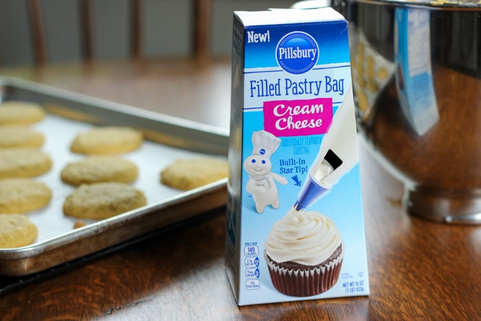 pillsbury icing with cookies