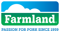 the logo for farmland