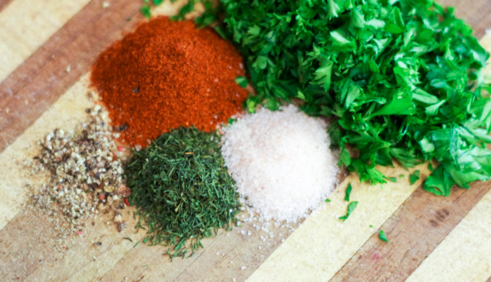 spices for vegetable barley soup in your slow cooker