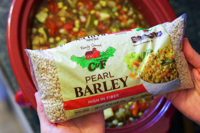 how to use pearl barley in soup