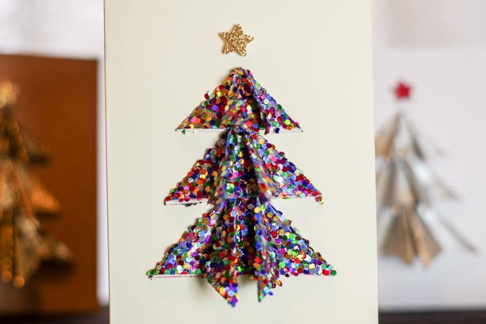 christmas glitter tree