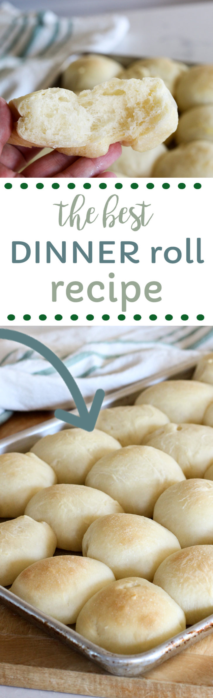 The best dinner roll recipe.  The dough is made in the bread machine.