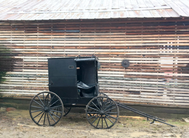 Amish buggy Ohio