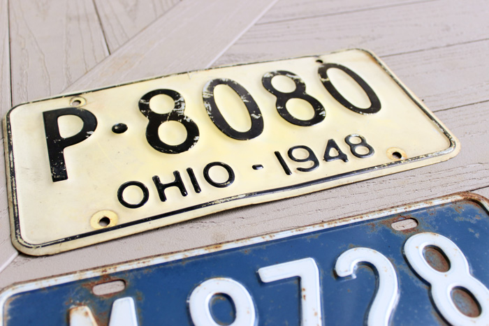 1940 license plate