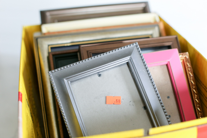 How To Distress Picture Frames With Chalk Paint Cleverly Simple