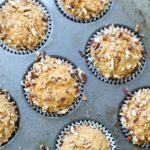 sweet potato muffins in cupcake pan fully cooked