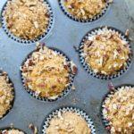 sweet potato muffins in cupcake pan