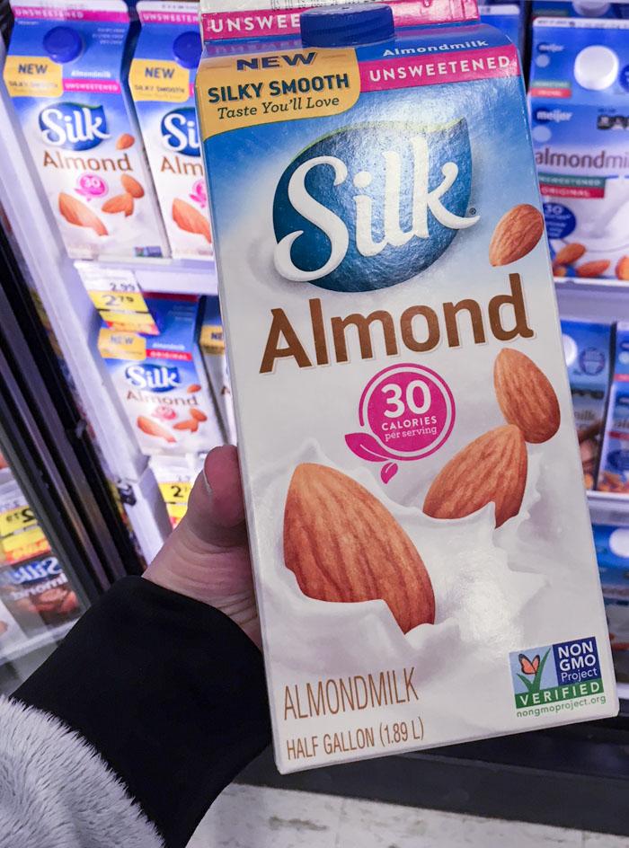 Silk Almondmilk at Meijer