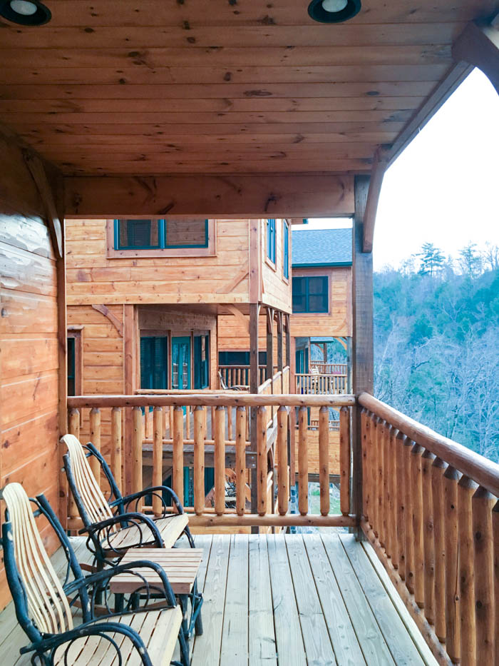 Gatlinburg Falls Resort Cypress Lodge Porch