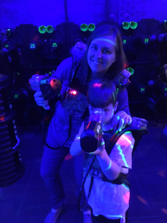 Laser Tag at Wonderworks
