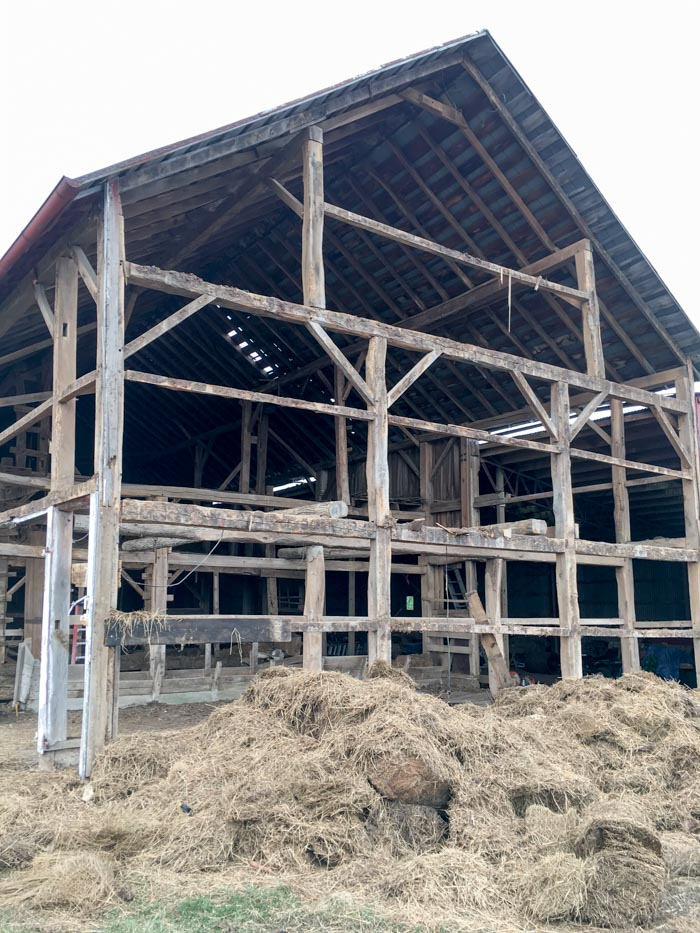 barn being taken down Ohio