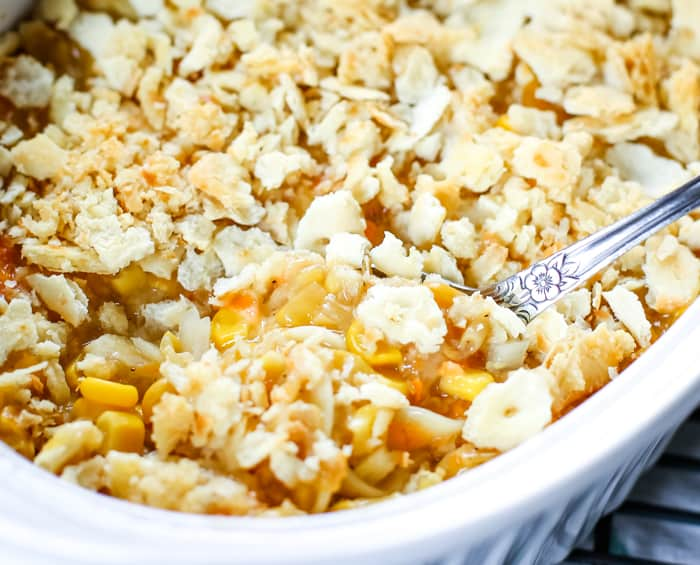 baked corn and noodle casserole